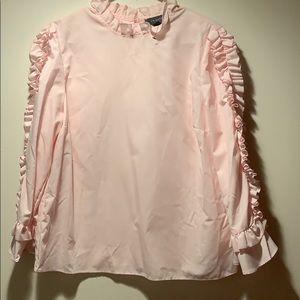 Primark Pink Ruffle Shirt